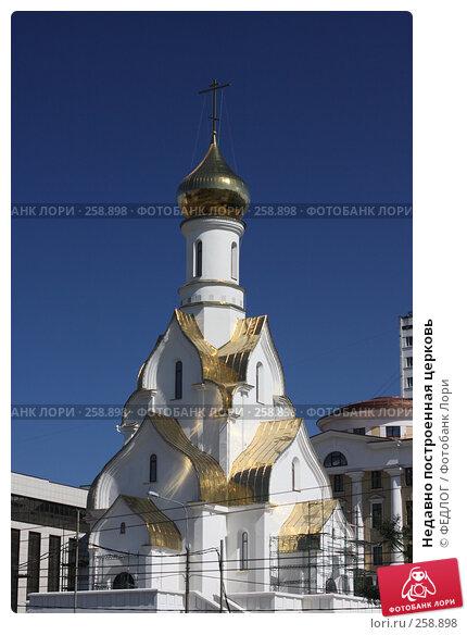 Недавно построенная церковь, фото № 258898, снято 22 апреля 2008 г. (c) ФЕДЛОГ.РФ / Фотобанк Лори
