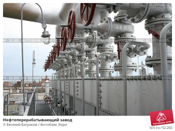 Купить «Нефтеперерабатывающий завод», фото № 52202, снято 8 июня 2007 г. (c) Евгений Батраков / Фотобанк Лори