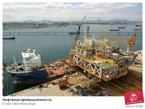 Нефтяная промышленность, фото № 6582, снято 31 июля 2003 г. (c) Ivan / Фотобанк Лори