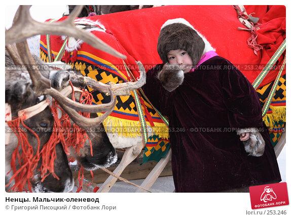 Ненцы. Мальчик-оленевод, эксклюзивное фото № 253246, снято 16 марта 2008 г. (c) Григорий Писоцкий / Фотобанк Лори
