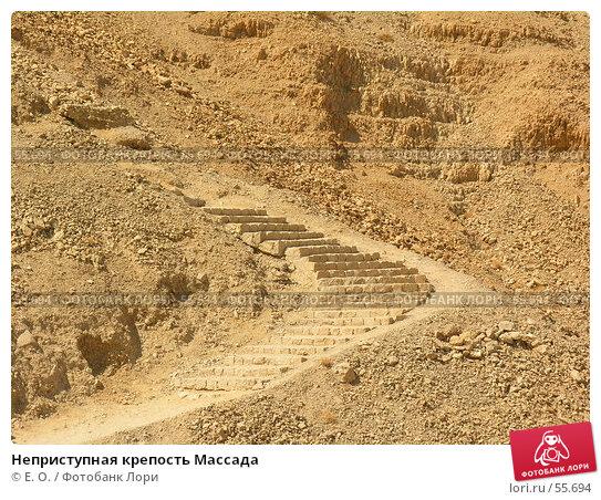 Неприступная крепость Массада, фото № 55694, снято 25 сентября 2005 г. (c) Екатерина Овсянникова / Фотобанк Лори