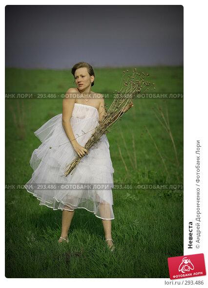 Купить «Невеста», фото № 293486, снято 26 апреля 2018 г. (c) Андрей Доронченко / Фотобанк Лори