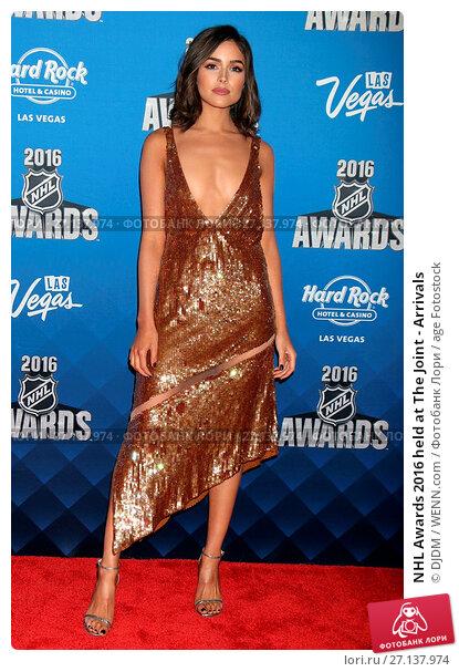 Купить «NHL Awards 2016 held at The Joint - Arrivals Featuring: Olivia Culpo Where: Las Vegas, Nevada, United States When: 22 Jun 2016 Credit: DJDM/WENN.com», фото № 27137974, снято 22 июня 2016 г. (c) age Fotostock / Фотобанк Лори