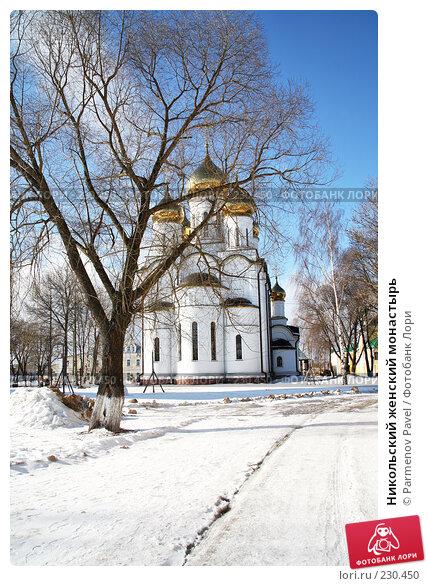 Никольский женский монастырь, фото № 230450, снято 24 февраля 2008 г. (c) Parmenov Pavel / Фотобанк Лори