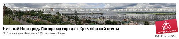 Нижний Новгород. Панорама города с Кремлёвской стены, фото № 50950, снято 20 января 2017 г. (c) Лисовская Наталья / Фотобанк Лори