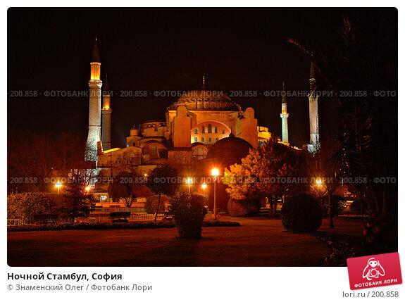 Ночной Стамбул, София, фото № 200858, снято 7 января 2005 г. (c) Знаменский Олег / Фотобанк Лори