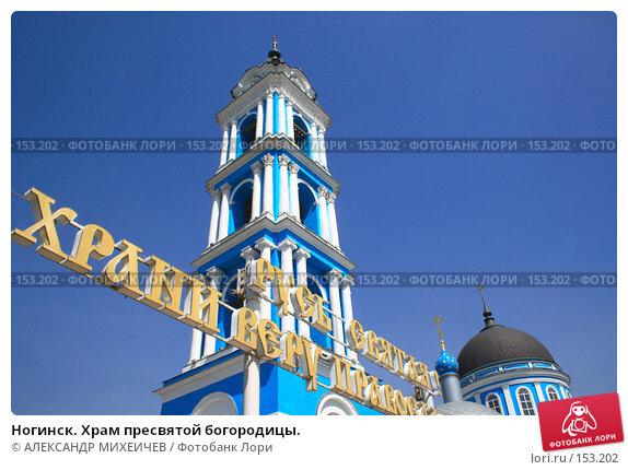 Ногинск. Храм пресвятой богородицы., фото № 153202, снято 25 мая 2007 г. (c) АЛЕКСАНДР МИХЕИЧЕВ / Фотобанк Лори