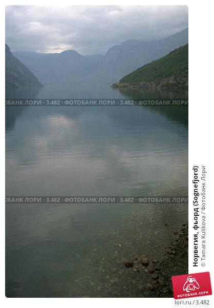 Норвегия, фьорд (Sognefjord), фото № 3482, снято 22 августа 2005 г. (c) Tamara Kulikova / Фотобанк Лори