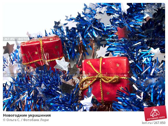 Новогодние украшения, фото № 267850, снято 26 ноября 2006 г. (c) Ольга С. / Фотобанк Лори