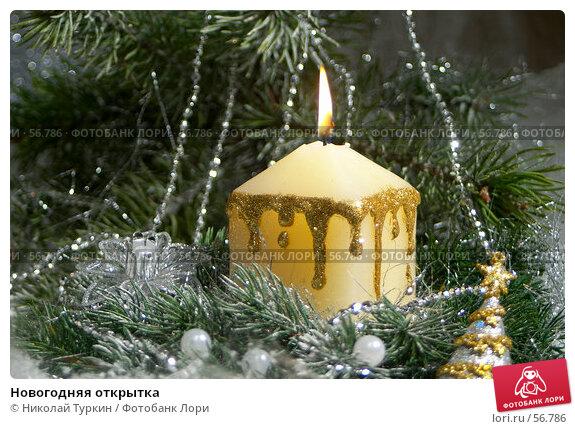 Новогодняя открытка, фото № 56786, снято 7 мая 2005 г. (c) Николай Туркин / Фотобанк Лори