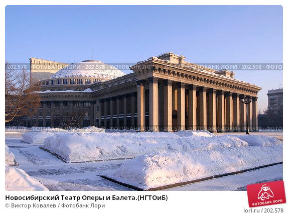 Купить «Новосибирский Театр Оперы и Балета.(НГТОиБ)», фото № 202578, снято 27 января 2008 г. (c) Виктор Ковалев / Фотобанк Лори