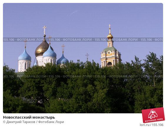 Новоспасский монастырь, фото № 155106, снято 4 июня 2006 г. (c) Дмитрий Тарасов / Фотобанк Лори