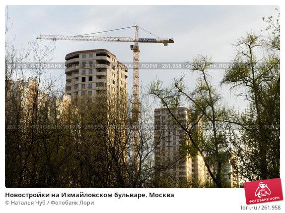 Новостройки на Измайловском бульваре. Москва, фото № 261958, снято 24 апреля 2008 г. (c) Наталья Чуб / Фотобанк Лори