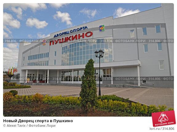 Новый Дворец спорта в Пушкино, эксклюзивное фото № 314806, снято 26 мая 2008 г. (c) Alexei Tavix / Фотобанк Лори