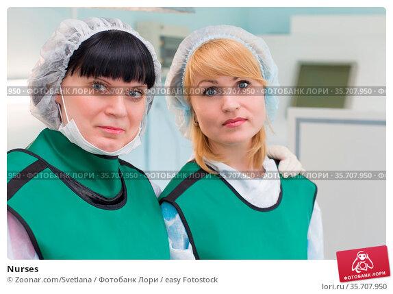 Nurses. Стоковое фото, фотограф Zoonar.com/Svetlana / easy Fotostock / Фотобанк Лори
