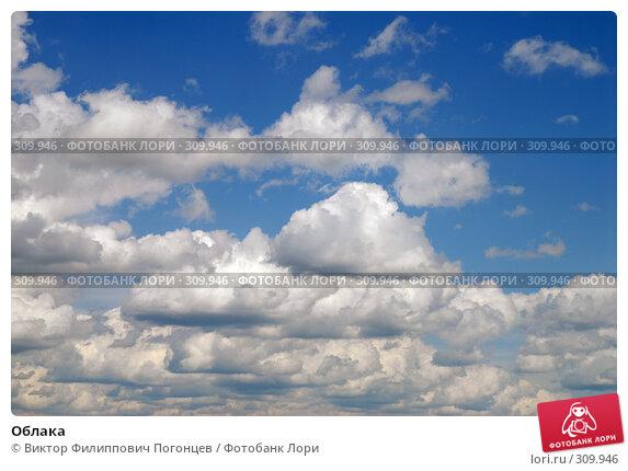 Облака, фото № 309946, снято 1 июня 2008 г. (c) Виктор Филиппович Погонцев / Фотобанк Лори