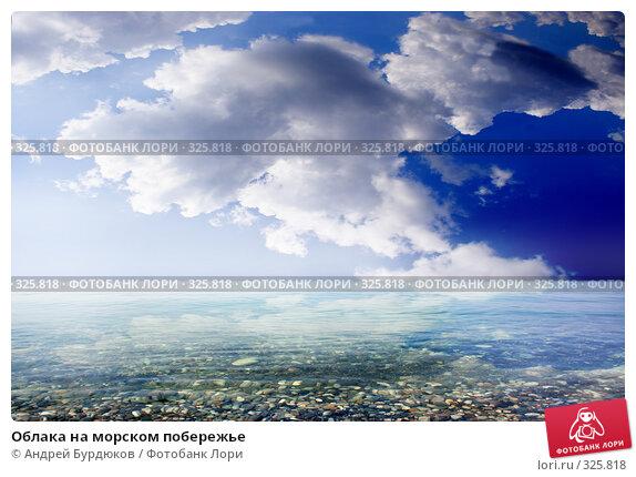Облака на морском побережье, фото № 325818, снято 31 июля 2007 г. (c) Андрей Бурдюков / Фотобанк Лори