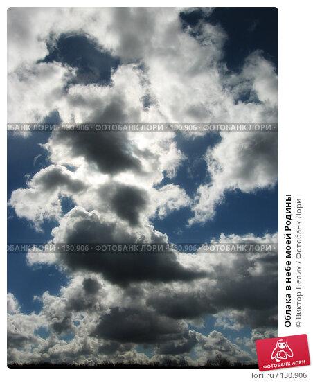 Облака в небе моей Родины, фото № 130906, снято 18 марта 2007 г. (c) Виктор Пелих / Фотобанк Лори