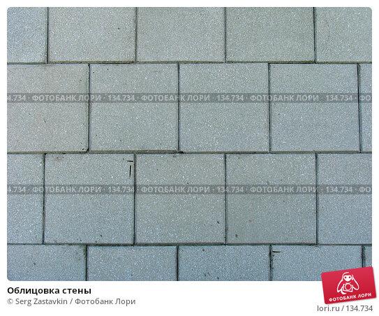 Купить «Облицовка стены», фото № 134734, снято 6 июня 2004 г. (c) Serg Zastavkin / Фотобанк Лори