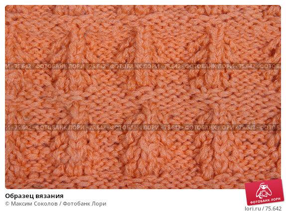 Образец вязания, фото № 75642, снято 26 июня 2007 г. (c) Максим Соколов / Фотобанк Лори