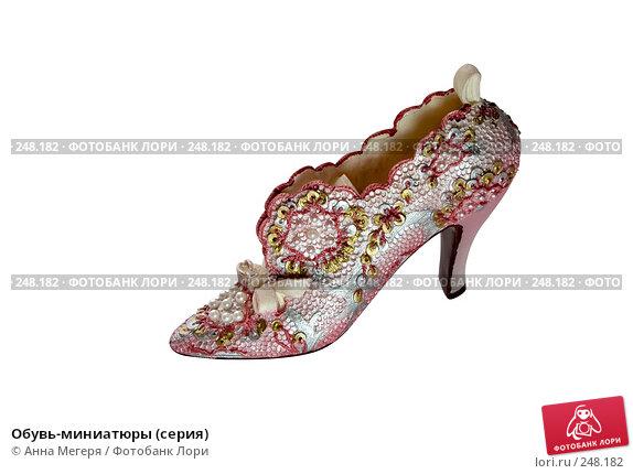 Обувь-миниатюры (серия), фото № 248182, снято 10 февраля 2008 г. (c) Анна Мегеря / Фотобанк Лори