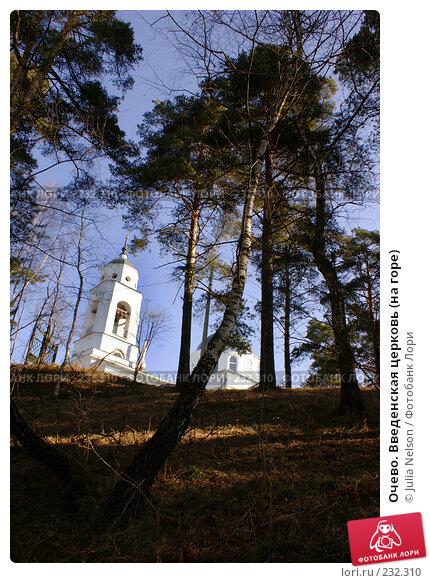 Очево. Введенская церковь (на горе), фото № 232310, снято 22 марта 2008 г. (c) Julia Nelson / Фотобанк Лори