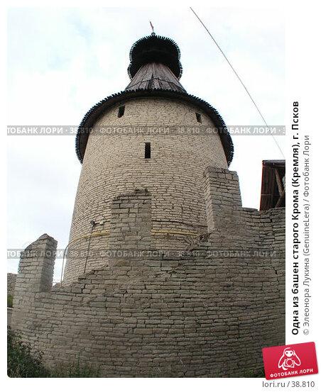 Одна из башен старого Крома (Кремля), г. Псков, фото № 38810, снято 9 декабря 2016 г. (c) Элеонора Лукина (GenuineLera) / Фотобанк Лори