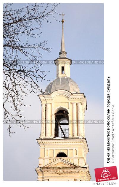Одна из многих колоколен города Суздаль, фото № 121394, снято 18 ноября 2007 г. (c) Parmenov Pavel / Фотобанк Лори