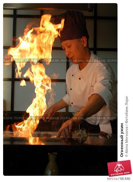 Купить «Огненный ужин», фото № 68846, снято 26 апреля 2007 г. (c) Alona Morozova / Фотобанк Лори