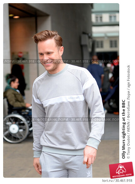 Olly Murs sighting at the BBC (2017 год). Редакционное фото, фотограф Tony Oudot / WENN / age Fotostock / Фотобанк Лори