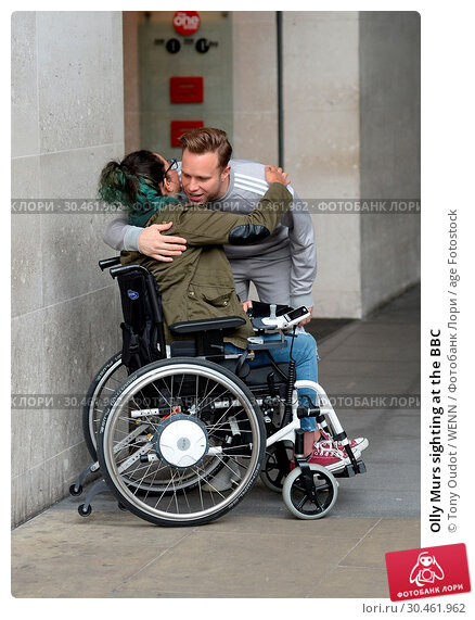 Olly Murs sighting at the BBC (2017 год). Редакционное фото, фотограф Tony Oudot / WENN / age Fotostock / Фотобанк Лори