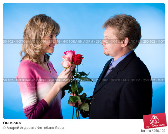 Он и она, фото № 250102, снято 26 мая 2007 г. (c) Андрей Андреев / Фотобанк Лори