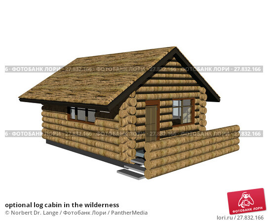 Купить «optional log cabin in the wilderness», фото № 27832166, снято 22 февраля 2018 г. (c) PantherMedia / Фотобанк Лори