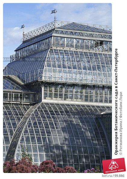 Оранжерея Ботанического сада в Санкт-Петербурге, фото № 99886, снято 1 сентября 2007 г. (c) Ротманова Ирина / Фотобанк Лори