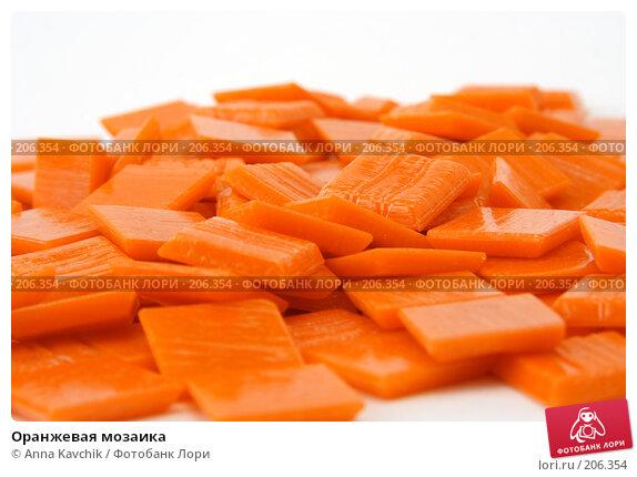 Оранжевая мозаика, фото № 206354, снято 18 февраля 2008 г. (c) Anna Kavchik / Фотобанк Лори