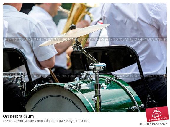 Купить «Orchestra drum», фото № 19875978, снято 17 июля 2019 г. (c) easy Fotostock / Фотобанк Лори