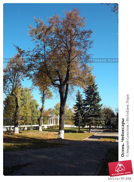 Осень. Чебоксары, фото № 91934, снято 2 октября 2007 г. (c) Андрей Соколов / Фотобанк Лори