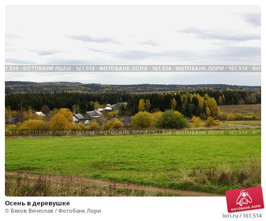 Осень в деревушке, фото № 161514, снято 30 сентября 2007 г. (c) Бяков Вячеслав / Фотобанк Лори