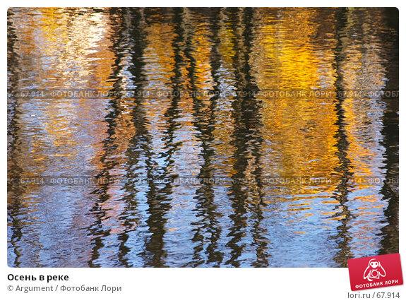 Осень в реке, фото № 67914, снято 25 октября 2005 г. (c) Argument / Фотобанк Лори