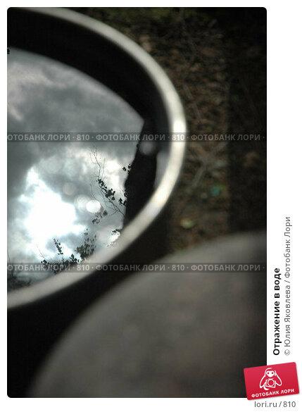 Отражение в воде, фото № 810, снято 21 мая 2005 г. (c) Юлия Яковлева / Фотобанк Лори