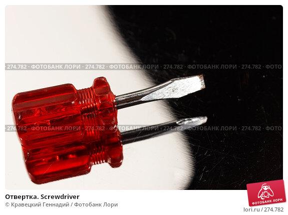 Отвертка. Screwdriver, фото № 274782, снято 7 октября 2005 г. (c) Кравецкий Геннадий / Фотобанк Лори