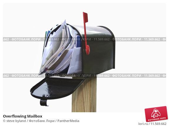 Купить «Overflowing Mailbox», фото № 11569662, снято 21 февраля 2019 г. (c) PantherMedia / Фотобанк Лори