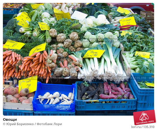 Купить «Овощи», фото № 135310, снято 21 апреля 2018 г. (c) Юрий Борисенко / Фотобанк Лори