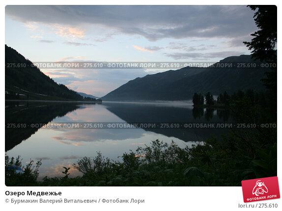 Озеро Медвежье, фото № 275610, снято 30 июня 2006 г. (c) Бурмакин Валерий Витальевич / Фотобанк Лори