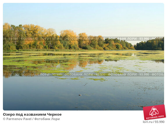 Озеро под названием Черное, фото № 93990, снято 30 сентября 2007 г. (c) Parmenov Pavel / Фотобанк Лори