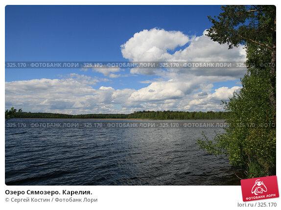 Озеро Сямозеро. Карелия., фото № 325170, снято 13 июня 2008 г. (c) Сергей Костин / Фотобанк Лори