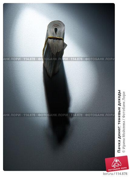 Пачка денег: теневые доходы, фото № 114878, снято 12 сентября 2007 г. (c) Ирина Мойсеева / Фотобанк Лори