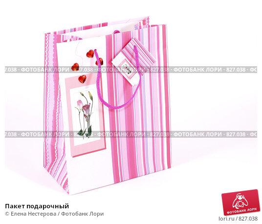 Пакет подарочный. Редакционное фото, фотограф Елена Нестерова / Фотобанк Лори