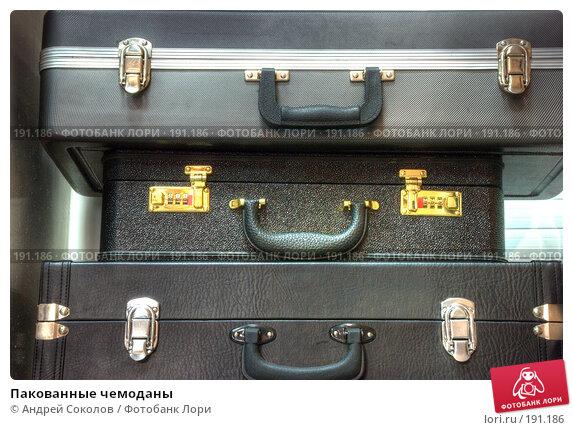Пакованные чемоданы, фото № 191186, снято 25 мая 2017 г. (c) Андрей Соколов / Фотобанк Лори