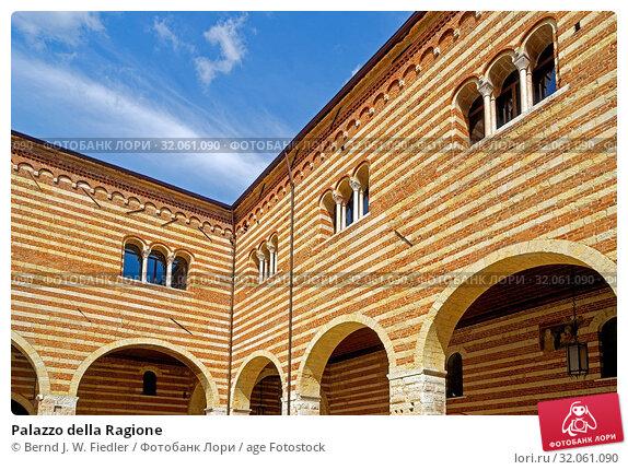 Palazzo della Ragione. Стоковое фото, фотограф Bernd J. W. Fiedler / age Fotostock / Фотобанк Лори